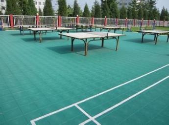 重庆悬浮拼装乒乓球场